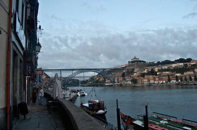 foto de la ribeira en Oporto