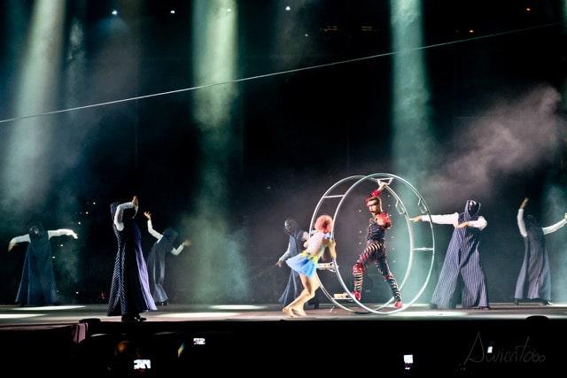 Andorra y circo del sol