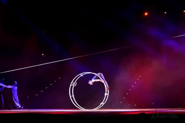 Video del circo del Sol