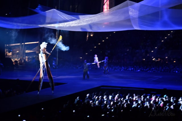 espectaculo circo sol en Andorra gratis