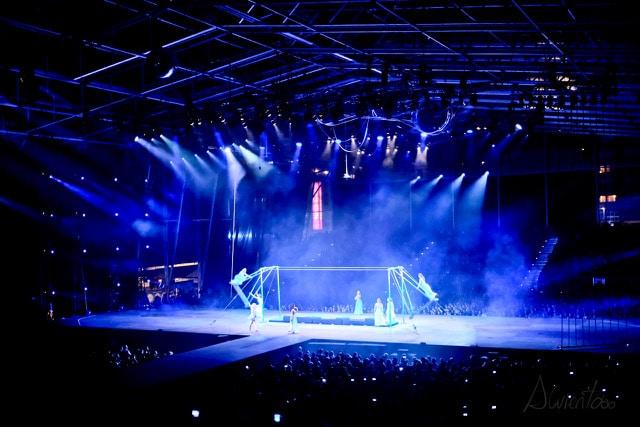 Circo del Sol espectaculo
