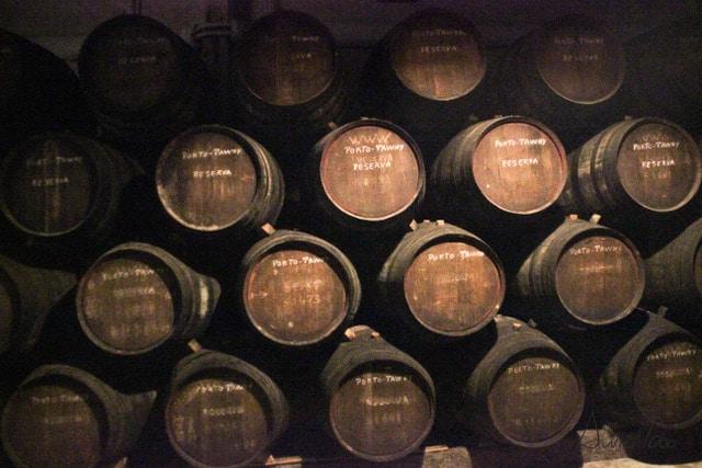 visita a las bodegas de vino en Oporto