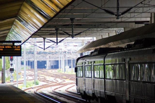 Estación de tren en Oporto
