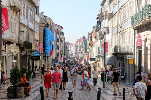 donde ir de compras en Oporto