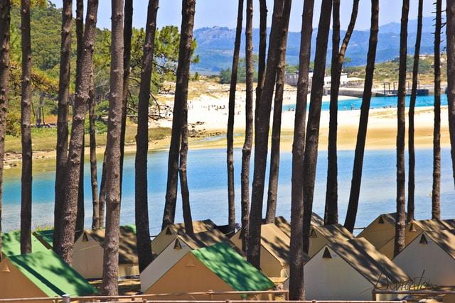 Hacer camping en Islas Cies