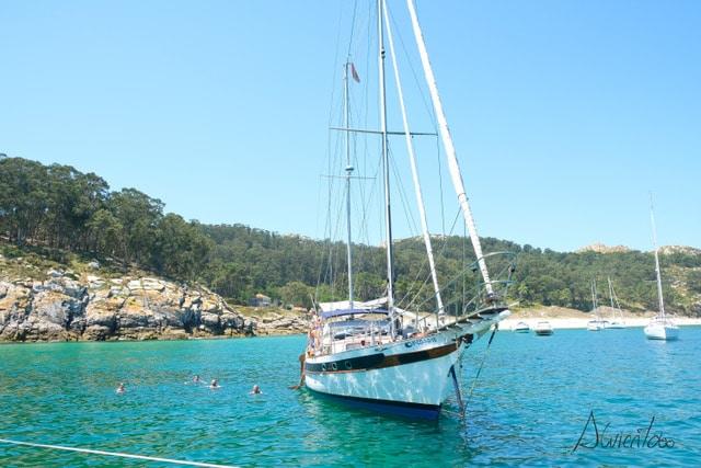 Permiso para acceder a las islas cies en barco