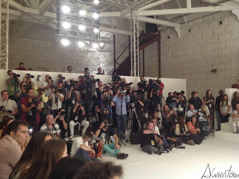 fotografos desfile de moda