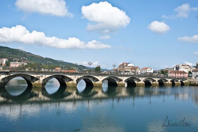 Visita a ciudad de Pontevedra. Puente del Burgo