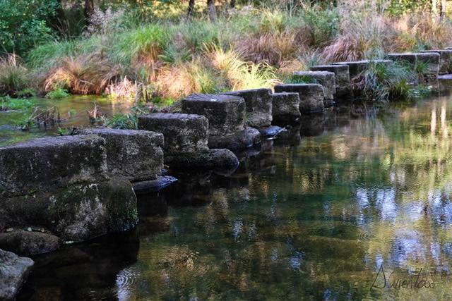 pasos en el rio pontecaldelas