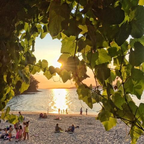Puesta de sol en Marin- Rias Baixas