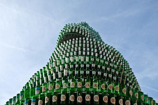 Monumento a la sidra en Gijón