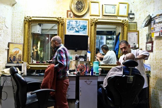 estambul gran bazar barber
