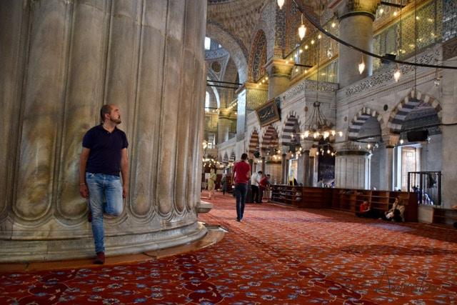 alvientooo en la mezquita azul