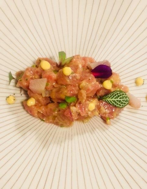 ensalada de sushi