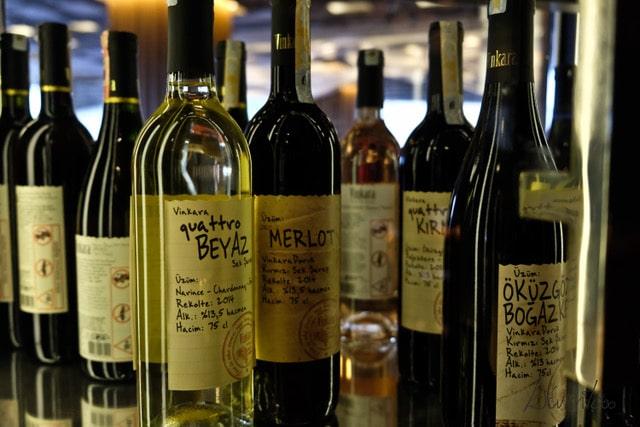 Vinkara wines. vinos turquia. Dónde alojarse en Estambul