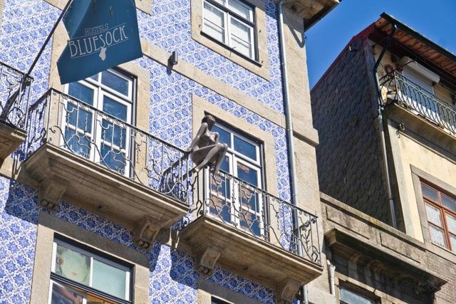 Bluesock hostel en Oporto