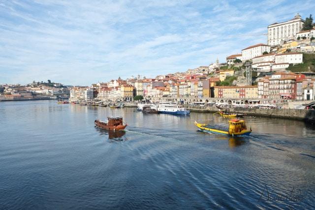 Dos días en Oporto. Paseo en barco por el duero en Oporto