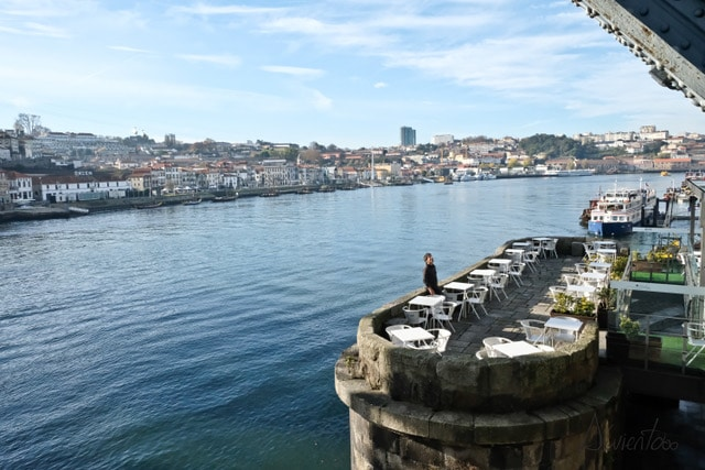 Dos dias de visita en Oporto . Jardim do morro