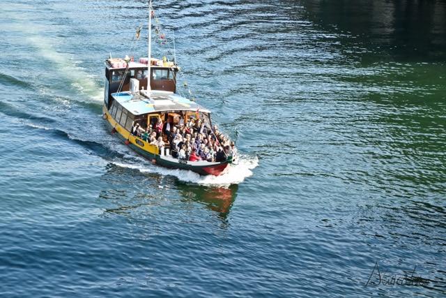 Dos días en Oporto. Paseo en barco