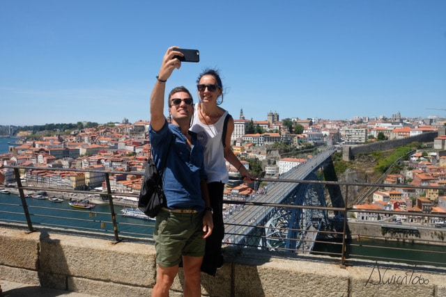 Puente Don Luis I en Oporto