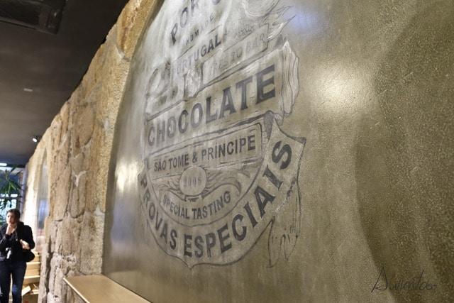 Chocolatería Oporto. Dos días en Oporto