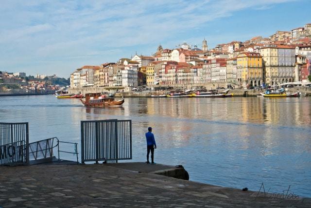 Dos dias de visita en Oporto . Paseo