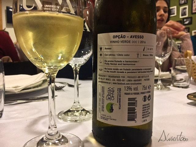 Vinho verde Amarante
