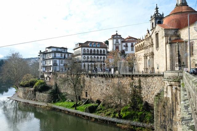 Amarante en norte de Portugal
