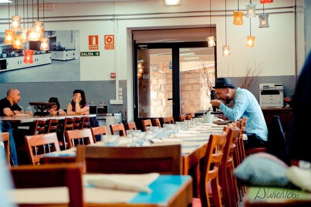 la cocina de la laboral. Comer en Gijón