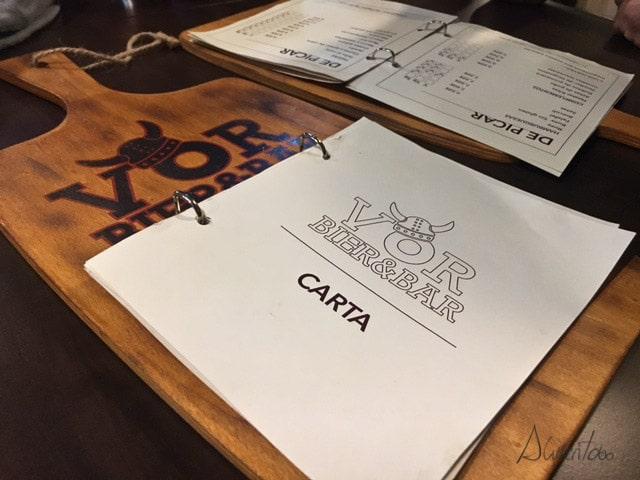 Vor Bier&Bar . comer en Gijón
