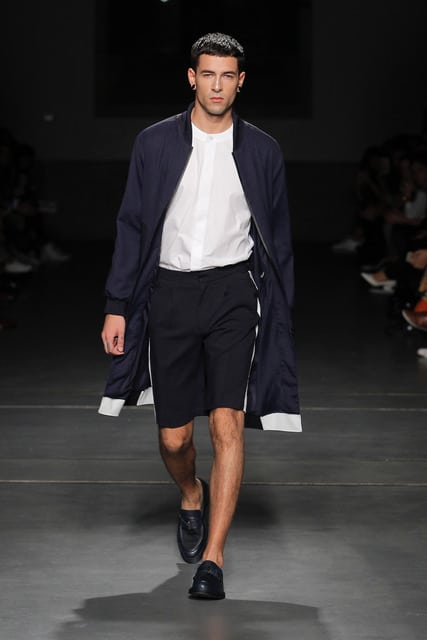 Julio Torcato en Portugal fashion week