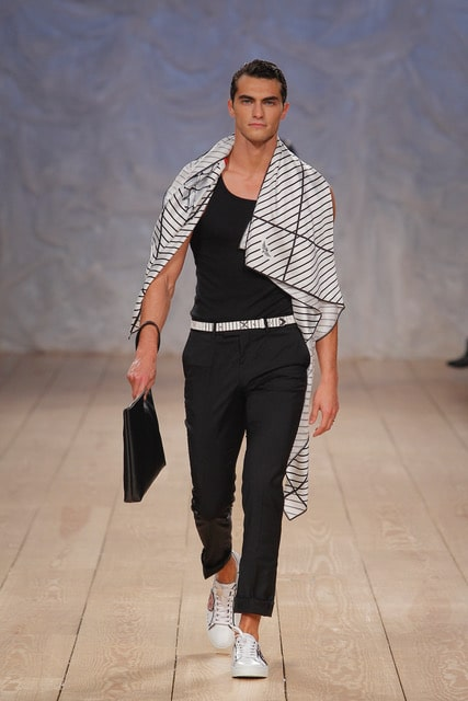 Miguel vieira Portugal fashion week 2018 en Porto