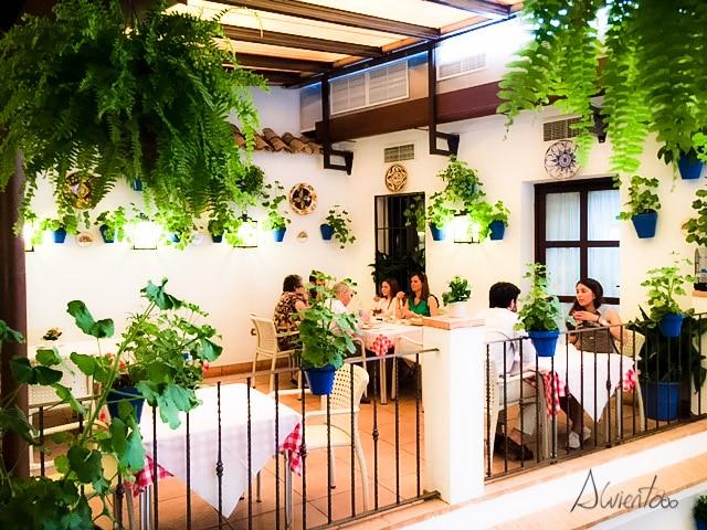 Comer en Cordoba en la posada del caballo andaluz