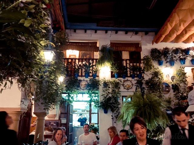 Restaurante Puerta Sevilla. Comer en Cordoba
