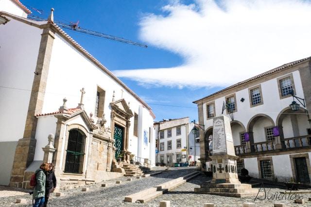 Bragança en el norte de Portugal
