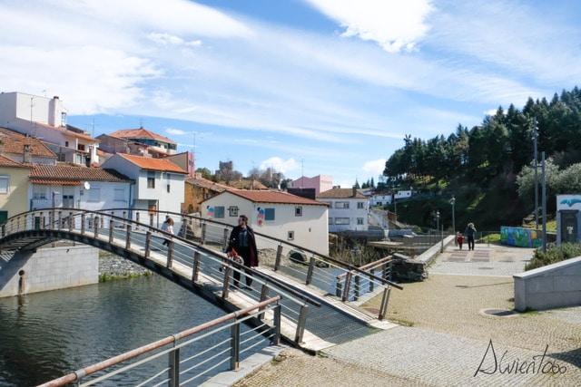 pasear en bicicleta por Bragança