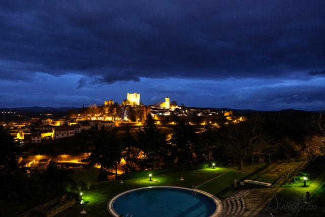vistas desde Pousada de San Bartolomeu en Bragança