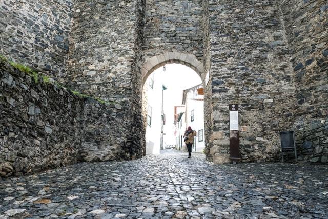 Muralla de Bragança de Cidadela de Bragança o Castelo de Bragança