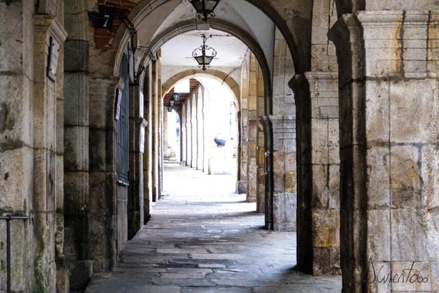 casco historico de Puentedeume