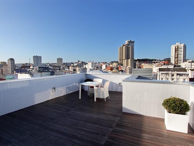 habitaciones del hotel Blue Coruña con vistas