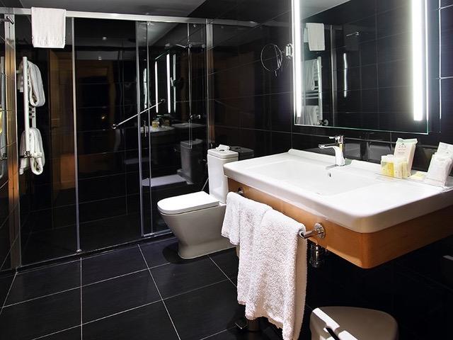 instalaciones del hotel Blue Coruña