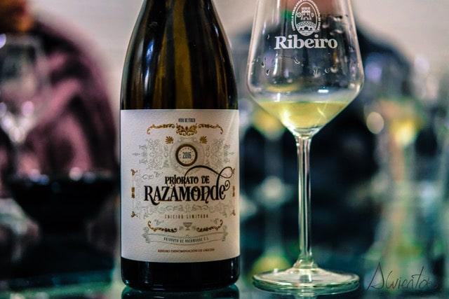 vino priorato de razamonte en o ribeiro