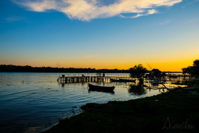 Puestas de sol en Rumania, Delta del Danubio