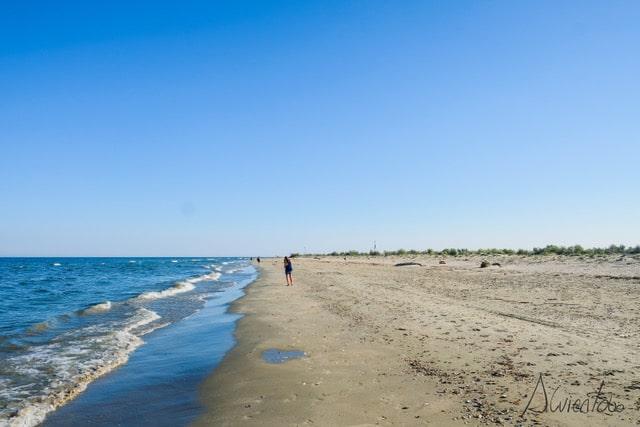 mar negro en delta del danubio