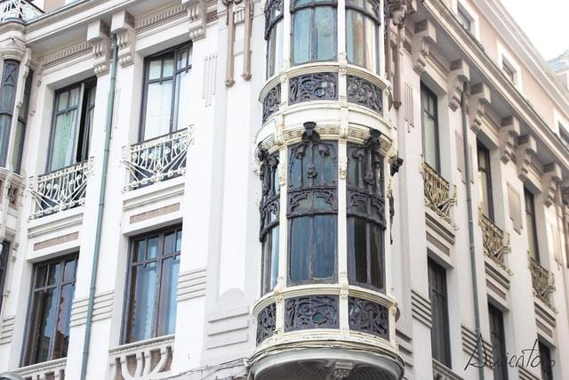 edificios modernistas en Ferrol