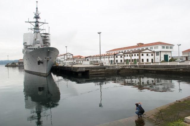 Arsenal militar de Ferrol en Ferrol de la Ilustración