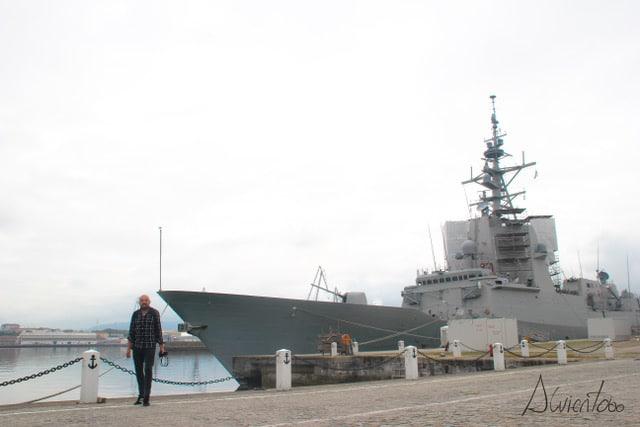 alvientooo visita a Ferrol