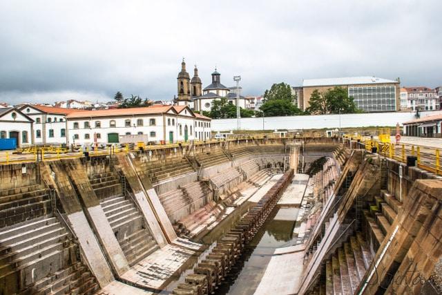 dique de la campana en Ferrol