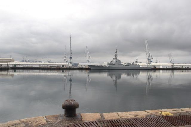 Astilleros de Navantia en Ferrol