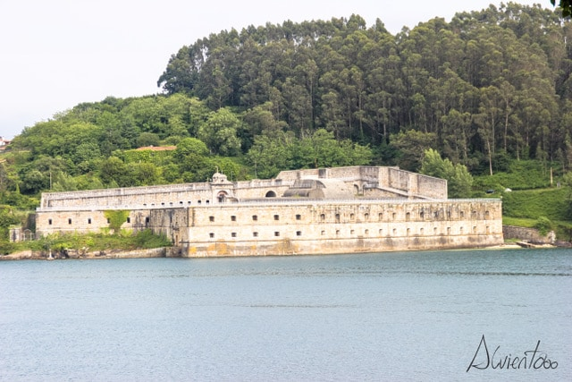 Castillo de La Palma en Ferrol